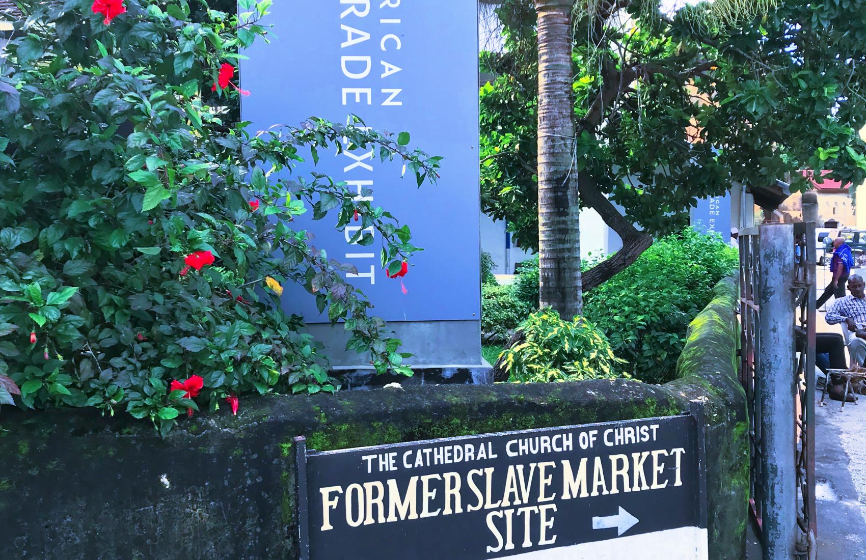 Former Slave Market Site